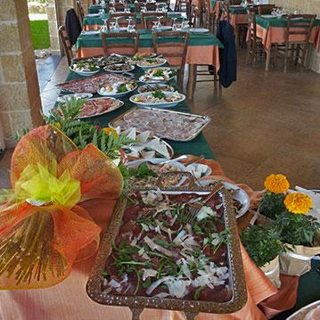 Agriturismo Aromi e Sapori - piatti